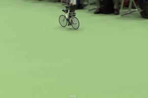 現代ではロボットまで?-自転車をこぐロボット